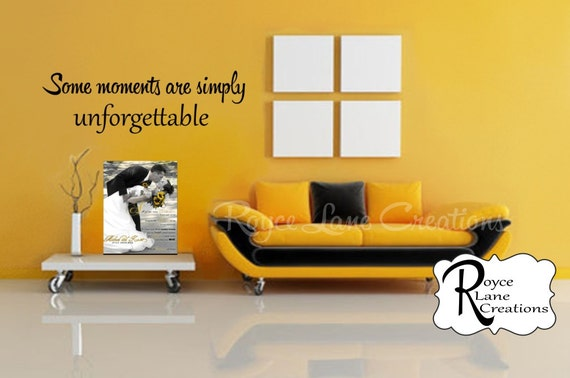 Some Moments Are Simply Unforgettable Photo Wall Display Decal