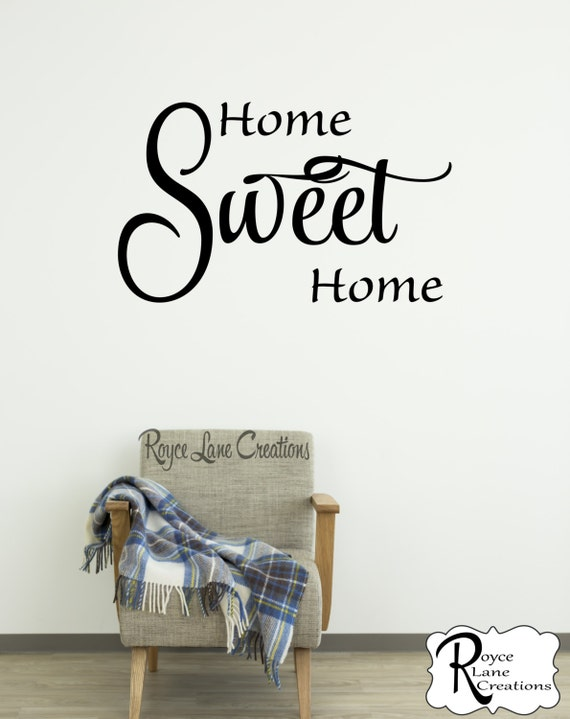 Home Sweet Home Decal RLC
