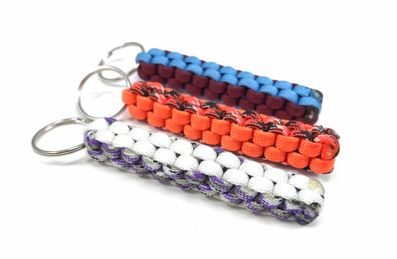 For Keyring Hook Fob Ring Keyring Silver Football Various Colours Beautiful