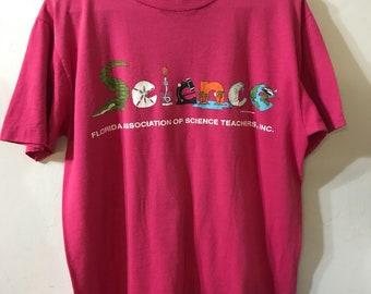 Vintage Science T-Shirt - Florida Association of Science Teachers T-Shirt - Cool Science T-Shirt