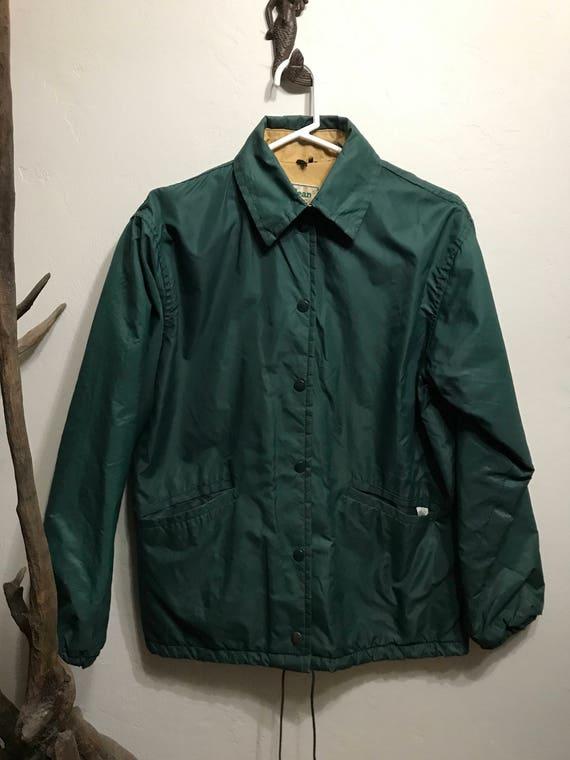 Vintage LL Bean Lined Rain Jacket - Rustic LL Bean