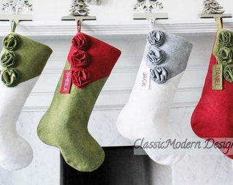 christmas stocking personalized wool stocking felt stockings family stockings burlap stockings dog stocking classic felt stockings