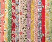 FREE SHIP 100 1930 39 s Reproduction Fabric Fat Eighths Feedsack Quilt Shop Quality No Dups