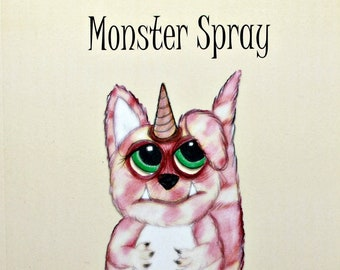 Signed Copy of Monster Spray by Suzy Marie Inman
