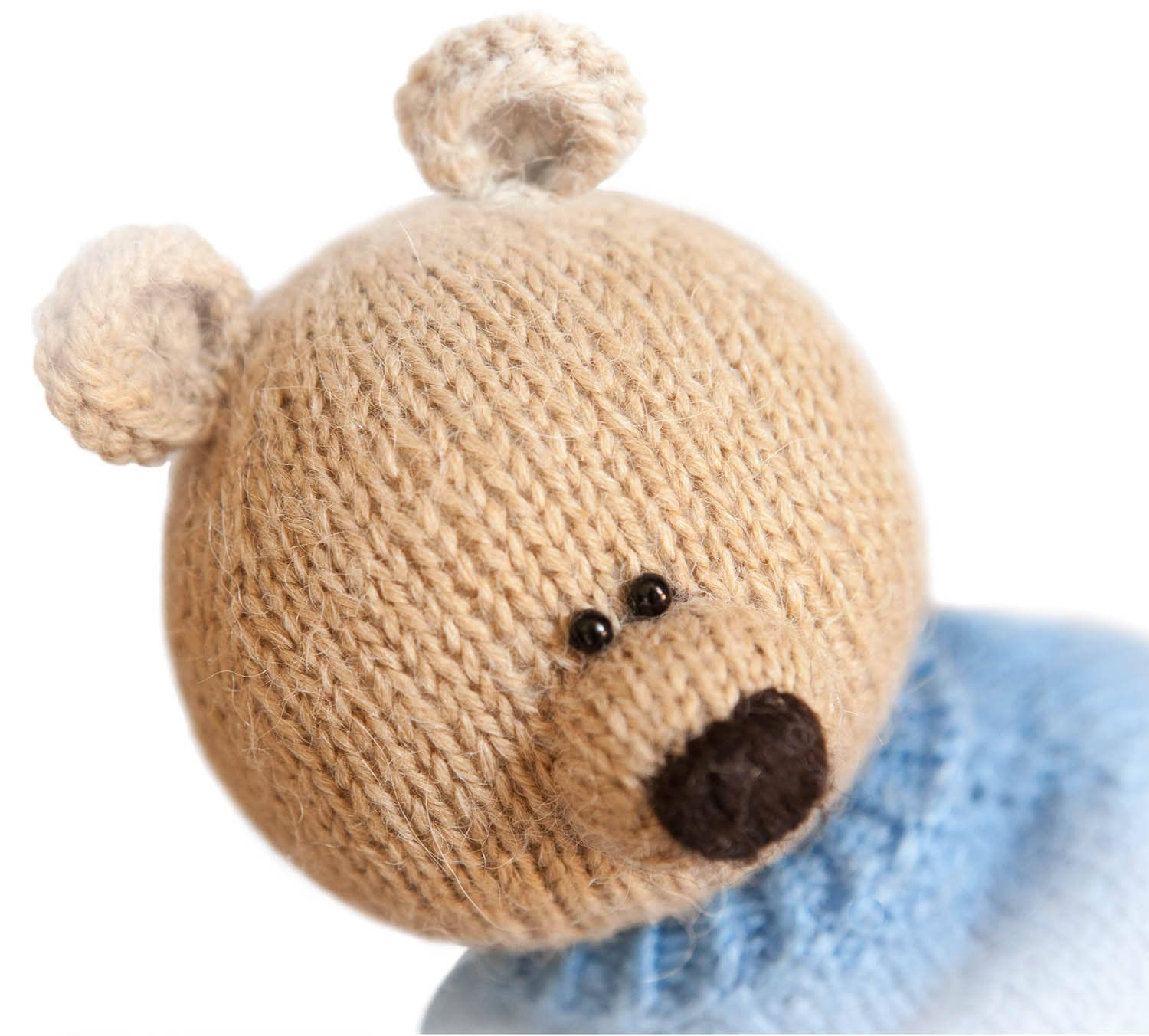 Toy Bear Knitting Pattern Knitting pattern toy Knitted animal ...