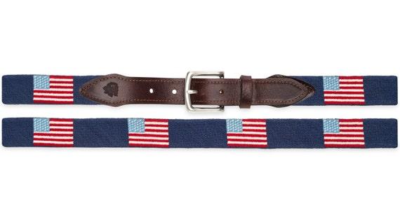 American Flag Needlepoint Belts   American Flag Belt    a0ad09c8dc