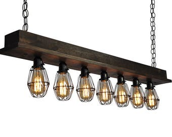 Beam Style Chandeliers