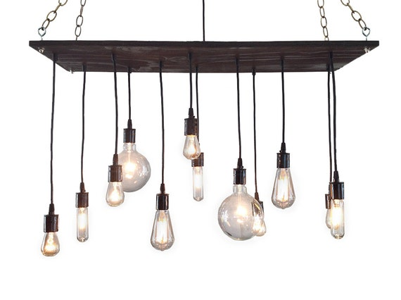 Urban chandelier rustic chandelier industrial chandelier etsy image 0 aloadofball Images