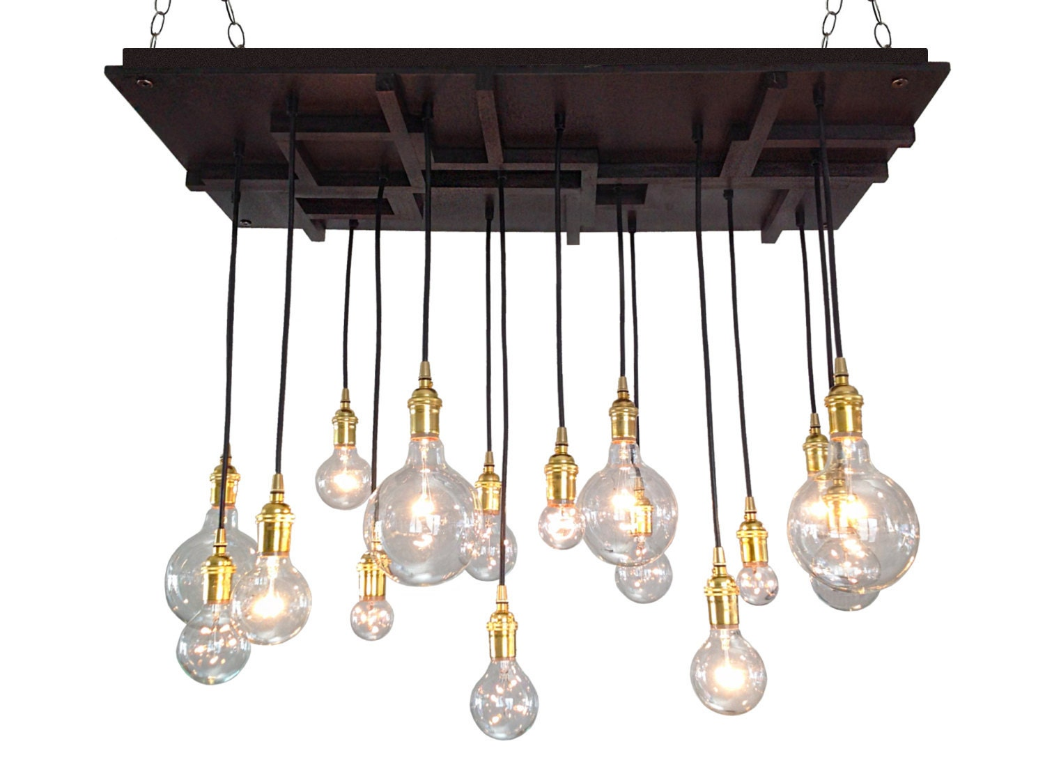 Arts and crafts mission style chandelier mission style lighting mid century light edison bulbs modern lighting craftsman
