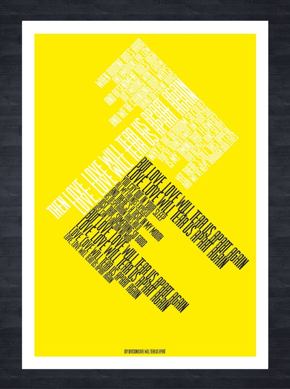 I know its over music gift The Smiths lyric print Warhol style