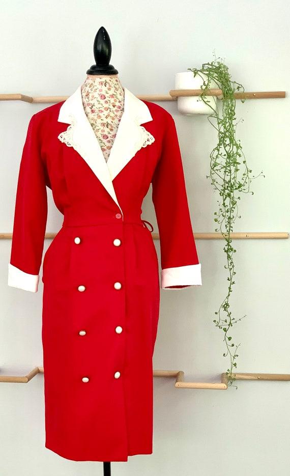 1980s Blazer Dress