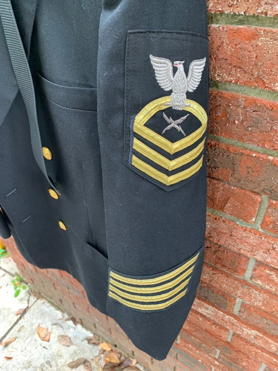 Navy Blue Dress Uniform Command Master Chief, Jack