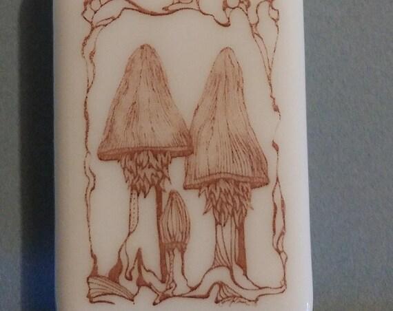 Double Mushroom Magnet, Mermaid Magnet, Washington State Magnet