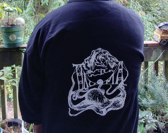 Tacoma Octopus Hooded Sweatshirt