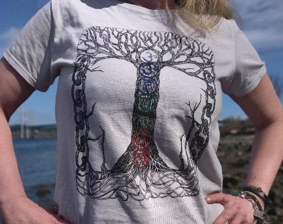 Ladies Chakra Tree