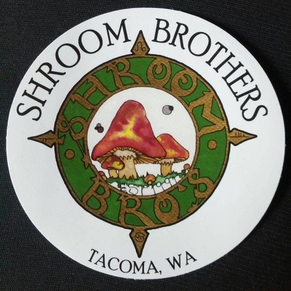 Shroom Brothers Decal