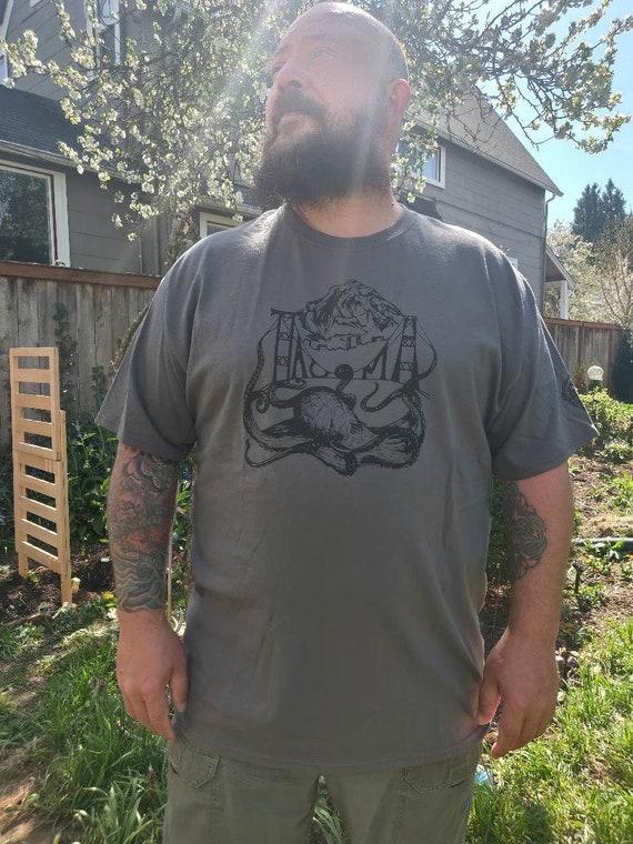 Tacoma Octopus T Shirt