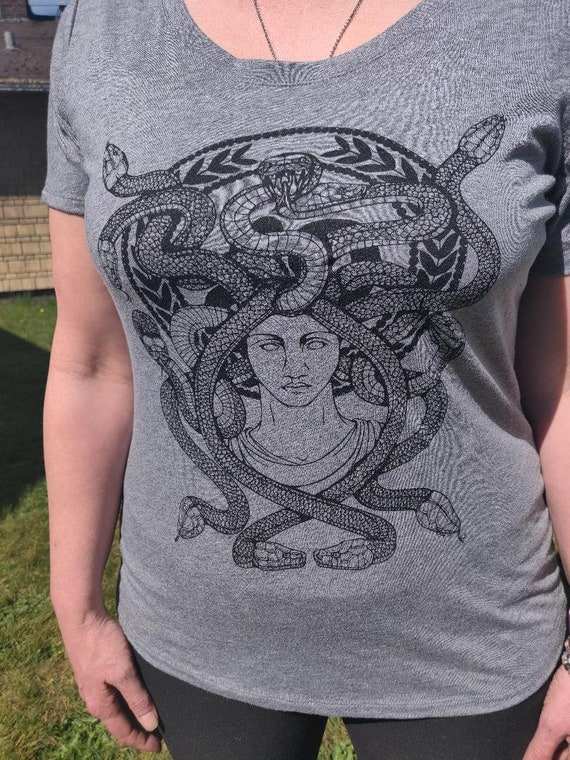 Medusa in Grey