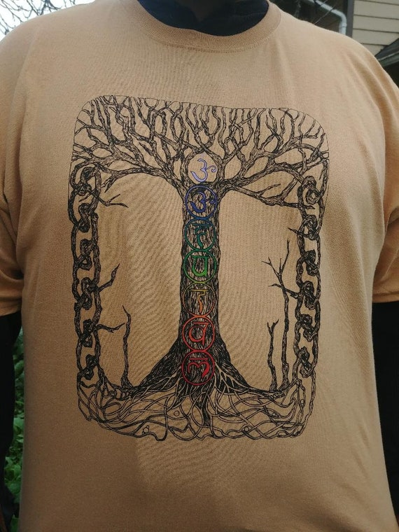 Chakra Tree of Life T Shirt