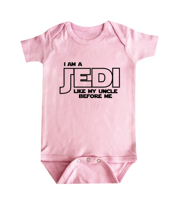 Baby Clothing Stores Near Me Delectable I Am A Jedi Just Like My UNCLE Baby Clothing Funny Baby Etsy