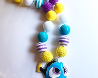 The  DORY Shop Closing. Girls Inspired necklace Toddler Birthday