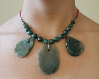Stone Statement Necklace