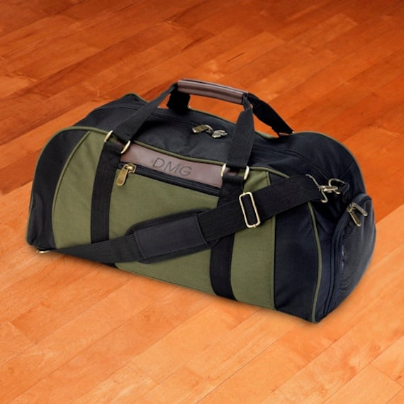 5578fd8adddc Personalized Logan Deluxe Duffel Bag Personalized Canvas and