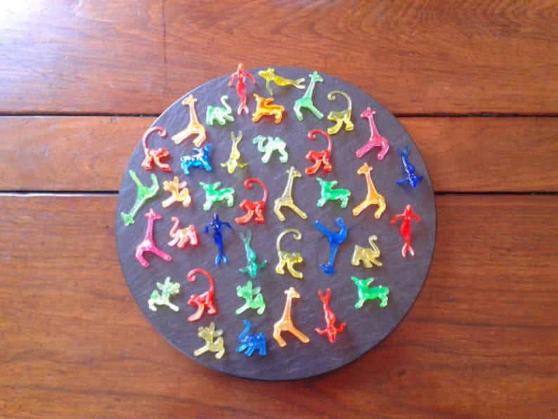24 Or 48 Animal Figurines Champagne Cocktail Wine Drink Marker