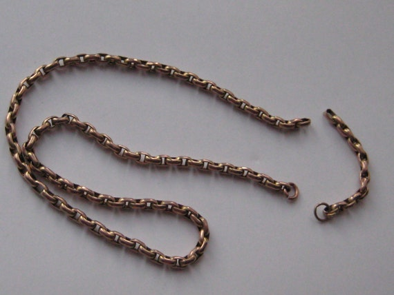 Victorian 9ct gold chain for scrap or re-purpose