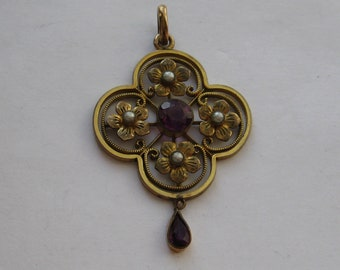 Beautiful Edwardian pendant