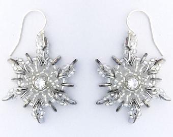Special! Tutorial O' Snowflake Earrings