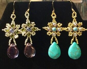 Special! Tutorial Pilar's Drop Earrings
