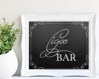 Cigar Bar Sign - Wedding/ Special Event
