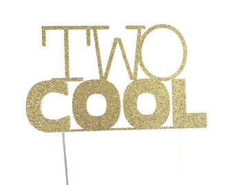 Two Cool Cake Topper – Two Cool Theme Party – Sunglasses Birthday Party – Two Cool Birthday Décor – Shades Party Decor