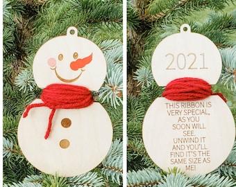 Child's Christmas Ornament, Kid Holiday Ornament, Family Christmas, Keepsake Ornament, Personalized Keepsake Gift