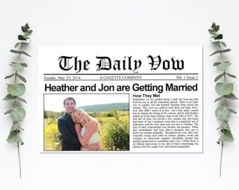 Newspaper Program - Custom Unique Program