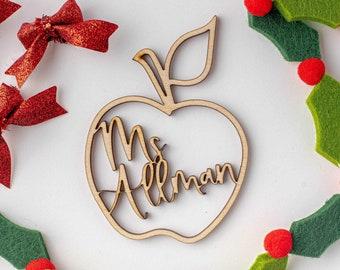 Teacher Ornament, Teacher Gift, White Elephant, Secret Santa Gift, Ornament Exchange
