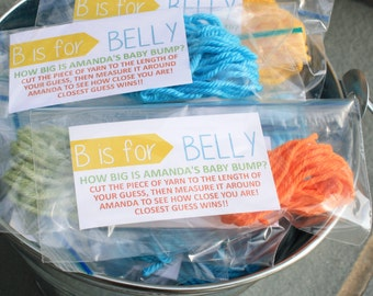 Baby Shower Games/Prints