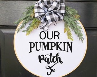 Swap-It Door Decor Insert - Our Pumpkin Patch