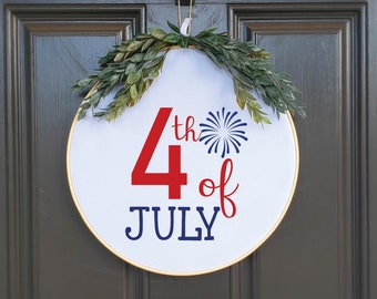 Swap-It Door Decor Insert - 4th of July