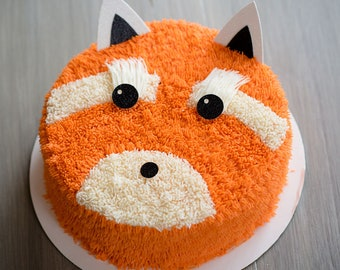 Fox Topper – Fox Theme Party – Fox Birthday Party – Glitter Party Décor – Fox Birthday Décor – Fox Party Decor