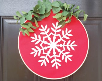 Swap-It Door Decor Insert - Snowflake