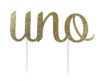 Uno One Cake Topper – Uno Theme Party – Uno Birthday Party – Cinco de Mayo Birthday Décor – Uno Party Decor