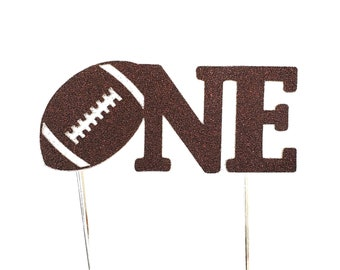 Football Cake Topper – Football Theme Party – Football Birthday Party – Sports Party Décor – Football Birthday Décor – Football Party Decor