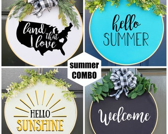 Swap-It Door Decor, Summer Starter Set