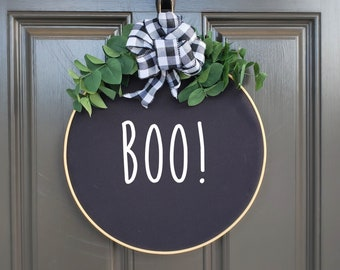 Swap-It Door Decor Insert - Boo!