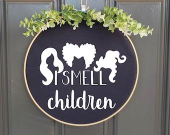 Swap-It Door Decor Insert - I Smell Children