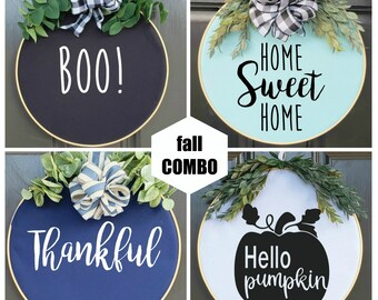 Swap-It Door Decor, Fall Starter Set
