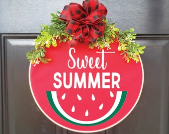 Swap-It Door Decor Insert - Sweet Summer