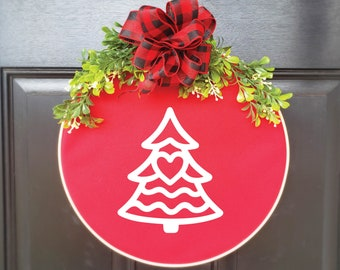 Swap-It Door Decor Insert - Christmas Tree